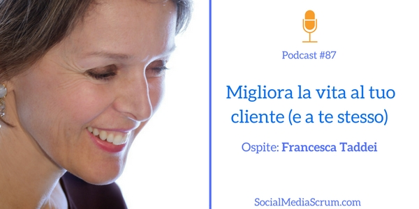 La customer experience di Francesca